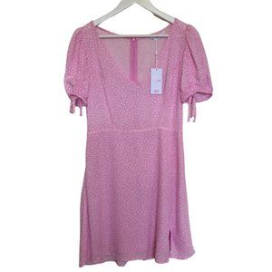 NWT SUPRE PINK FLORAL DRESS | sz 10 pink